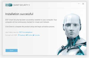 ESET Smart Security Installation Step 5